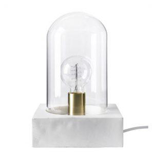 Bordslampa BUDDY vit betong