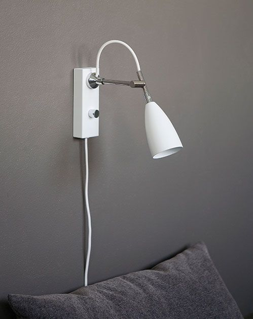 Vägglampa KURIR LED Dimbar
