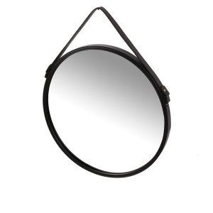 Spegel ADAMANT med läderband