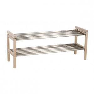 Skoställ CONFETTI 100 trä/metall