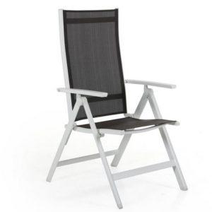 Positionsstol DINO vit/grå
