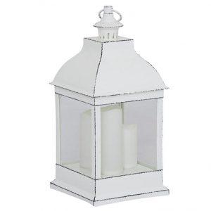 Lanterna MONA LED vit