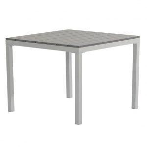 Soffbord NEWARK 80x80 vit/grå PS