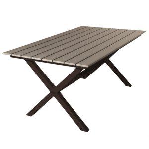 Soffbord NORMAN svart/grå PS