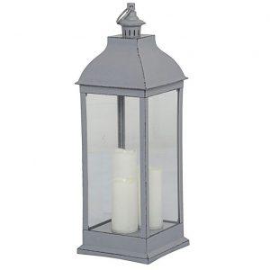 Lanterna TANJA LED grå