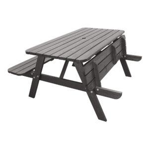 picknickset i grå rasta